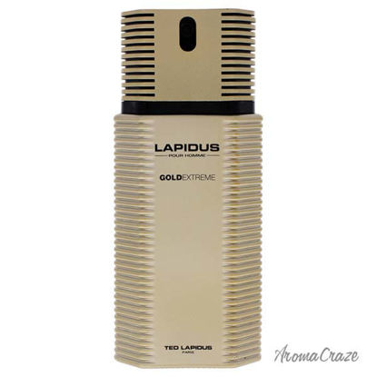 Ted Lapidus Gold Extreme EDT Spray (Tester) for Men 3.3 oz