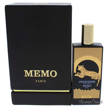 African Leather by Memo Paris for Unisex - 2.53 oz EDP Spray