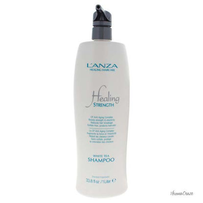 Healing Strength White Tea Shampoo by Lanza for Unisex - 33.