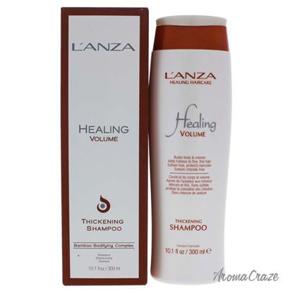 Healing Volume Thickening Shampoo by Lanza for Unisex - 10.1