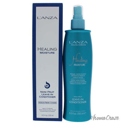 Healing Moisture Leave-In Conditioner by Lanza for Unisex -