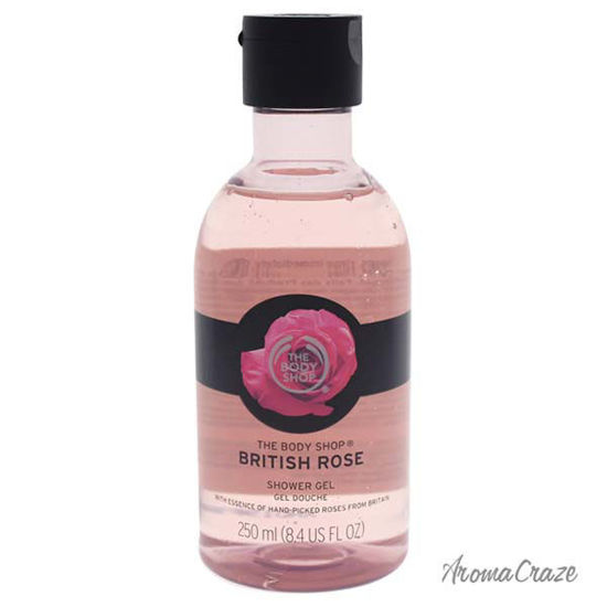 British Rose Shower Gel by The Body Shop for Women - 8.4 oz