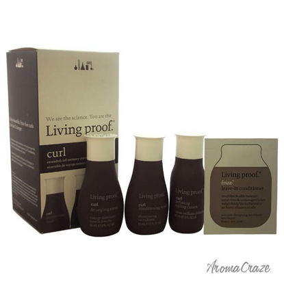 Curl Travel Kit by Living Proof for Unisex - 4 Pc Kit 2oz Cu