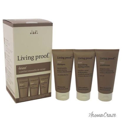 No Frizz Travel Kit by Living Proof for Unisex - 3 Pc Kit 2o