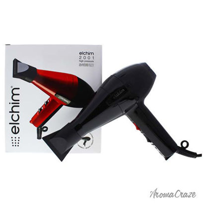 2001 High Pressure Hair Dryer - Black by Elchim for Women -