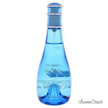 Cool Water by Davidoff for Women - 3.4 oz Eau Deodorant Spra