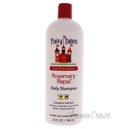 Rosemary Repel Daily Shampoo by Fairy Tales for Kids - 32 oz