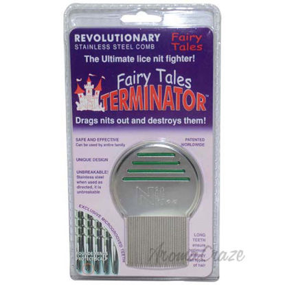 Terminator Metal Lice Comb by Fairy Tales for Kids - 1 pc Co