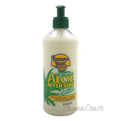 Aloe After Sun Lotion by Banana Boat for Unisex - 16 oz Loti