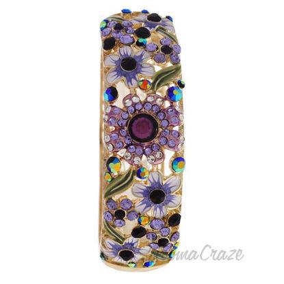 MSHHI-B Gold Multicolored Stones Bracelet by Manoush for Wom