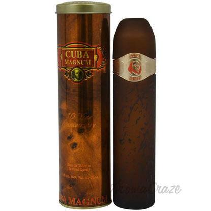 Cuba Magnum Gold by Cuba for Men - 4.2 oz EDT Spray