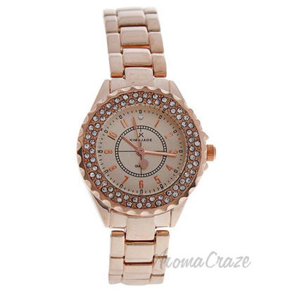 2033L GPGP Rose Gold Stainless Steel Bracelet Watch by Kim a