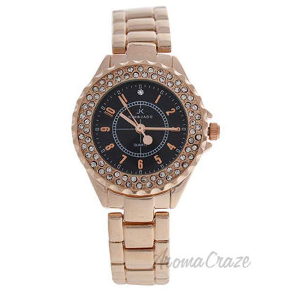 2033L-GPB Rose Gold Stainless Steel Bracelet Watch by Kim an