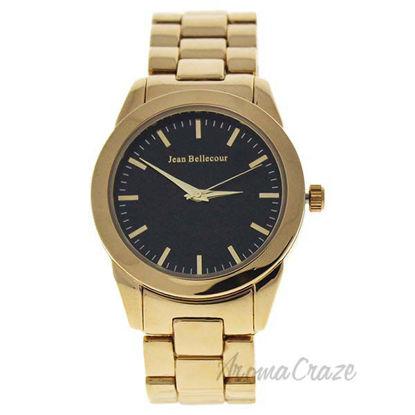 A0372-4 Gold Stainless Steel Bracelet Watch by Jean Bellecou