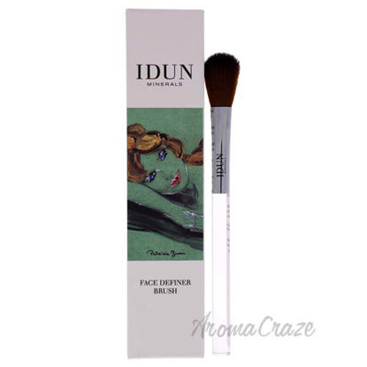Face Definer Brush - 012 by Idun Minerals for Women - 1 Pc B