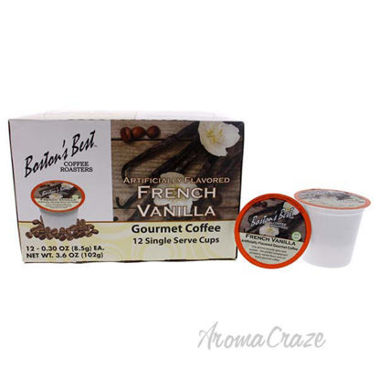 French Vanilla Gourmet Coffee by Bostons Best - 12 Cups Coff