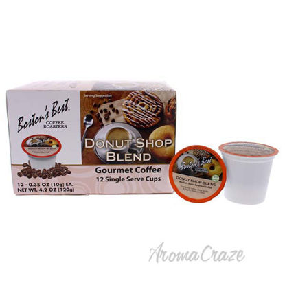 Donut Shop Blend Gourmet Coffee by Bostons Best - 12 Cups Co