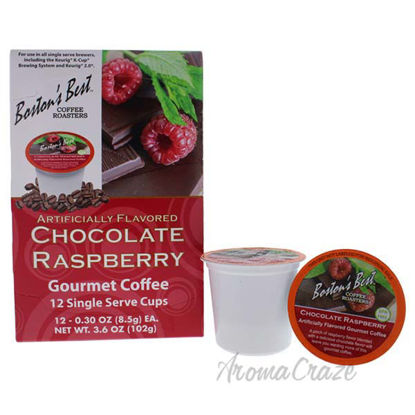 Chocolate Raspberry Gourmet Coffee by Bostons Best - 12 Cups