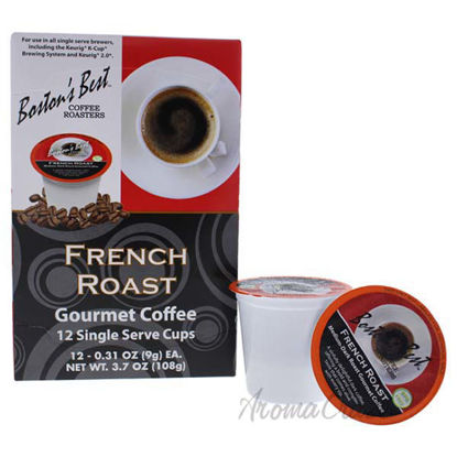 French Roast Gourmet Coffee by Bostons Best - 12 Cups Coffee