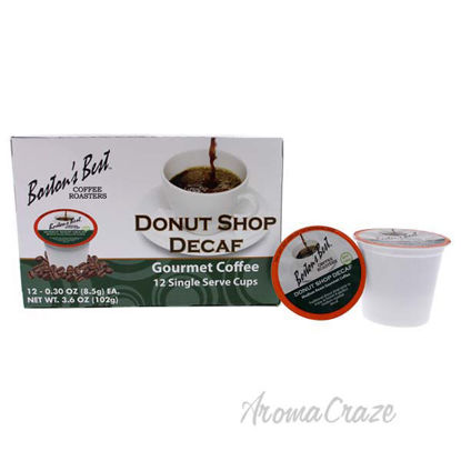 Donut Shop Decaf Gourmet Coffee by Bostons Best - 12 Cups Co