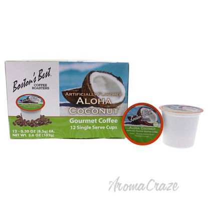 Aloha Coconut Gourmet Coffee by Bostons Best - 12 Cups Coffe