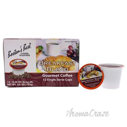 Breakfast Blend Gourmet Coffee by Bostons Best - 12 Cups Cof