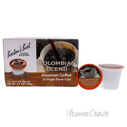 Colombian Blend Gourmet Coffee by Bostons Best - 12 Cups Cof