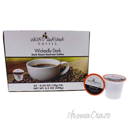 Wickedly Dark Coffee by Bostons Best - 24 Cups Coffee