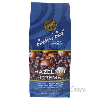 Hazelnut Creme Ground Gourmet Coffee by Bostons Best - 12 oz
