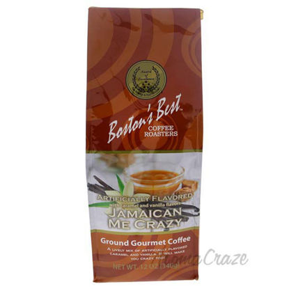 Jamaican Me Crazy Ground Gourmet Coffee by Bostons Best - 12