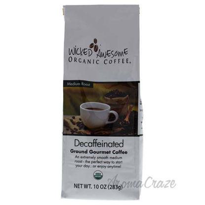 Wicked Awesome Organic Decaffeinated Ground Gourmet Coffee b