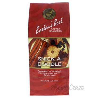 Snick A Doodle Ground Gourmet Coffee by Bostons Best - 12 oz