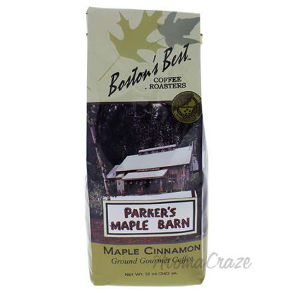 Parkers Maple Barn Cinnamon Ground Gourmet Coffee by Bostons