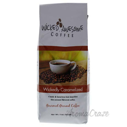 Wickedly Caramelized Ground Coffee by Bostons Best - 11 oz C