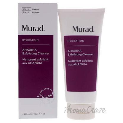 AHA-BHA Exfoliate Cleanser by Murad for Unisex - 6.75 oz Cle