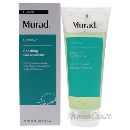 Soothing Gel Cleanser by Murad for Skincare - 6.75 oz Cleans