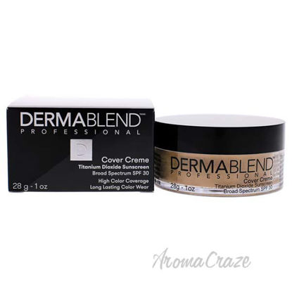 Cover Creme Full Coverage SPF 30 - 20W Cashew Beige by Derma