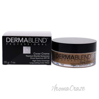 Cover Creme Full Coverage SPF 30 - 40N Golden Beige by Derma
