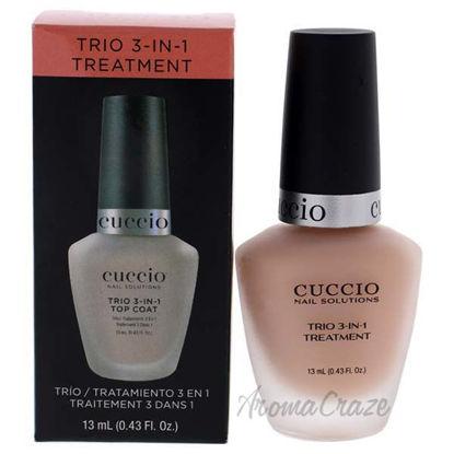 Trio 3-In-1 Treatment by Cuccio for Women - 0.43 oz Nail Tre