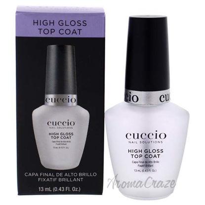 High Gloss Top Coat by Cuccio for Women - 0.43 oz Top Coat