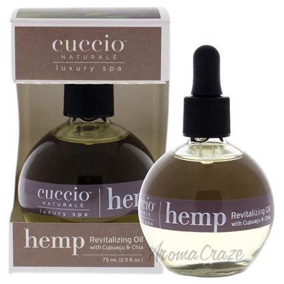 Hemp Revitalizing Oil by Cuccio for Unisex - 2.5 oz Oil