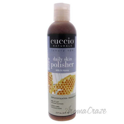 Luxury Spa Daily Skin Polisher - Milk and Honey by Cuccio fo