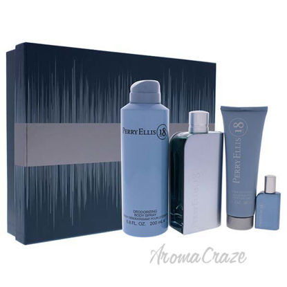 Perry Ellis 18 by Perry Ellis for Men - 4 Pc Gift Set