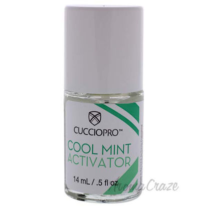 Cool Mint Activator by Cuccio Pro for Women - 0.5 oz Nail Tr