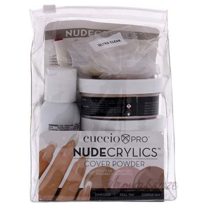 Nudecrylics Cover Powder Kit by Cuccio Pro for Women - 1 Kit