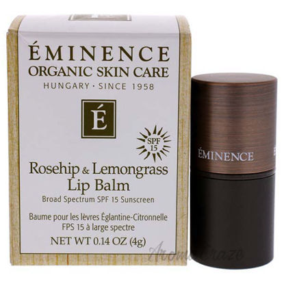 Rosehip and Lemongrass Lip Balm SPF 15 by Eminence for Unise