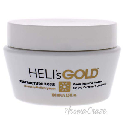 Restructure Masque by Helis Gold for Unisex - 3.3 oz Masque