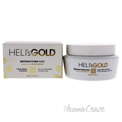 Restructure Masque by Helis Gold for Unisex - 8.4 oz Masque