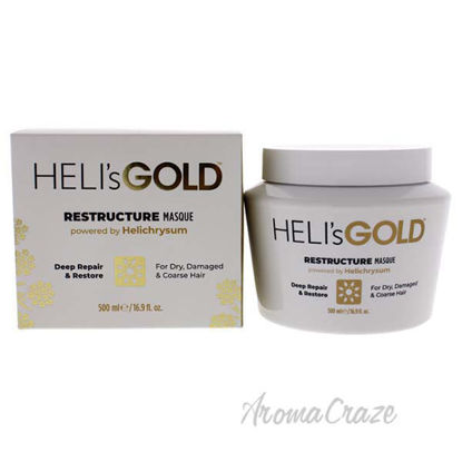 Restructure Masque by Helis Gold for Unisex - 16.9 oz Masque