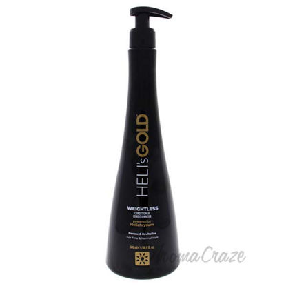 Weightless Conditioner by Helis Gold for Unisex - 16.9 oz Co